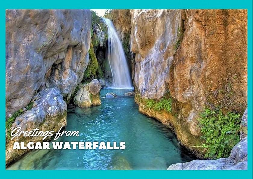 Groeten van de algar watervallen - Van Dam Estates