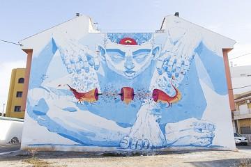 Los Alcázares promoot straatkunst - Van Dam Estates