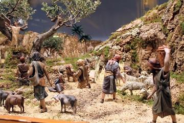 Het kerstverhaal in miniatuurvorm - Van Dam Estates