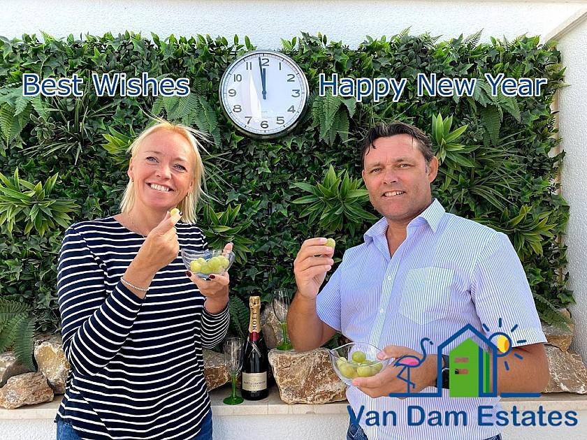 Druiven brengen geluk.... en ergernis - Van Dam Estates