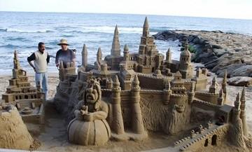 Zandkunst aan de costas - Van Dam Estates