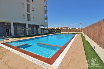 Appartement met ruim balkon in San Pedro del Pinatar - Van Dam Estates